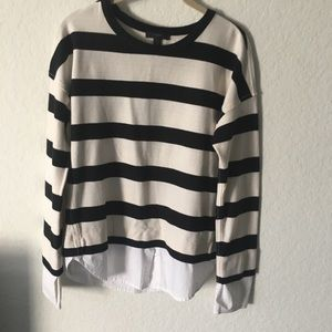LIVED AND UNIQUE JCREW TOP